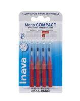 Inava Brossettes Mono-compact Rouge Iso 4 1,5mm à SAINT-MEDARD-EN-JALLES