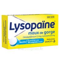 LysopaÏne Comprimés à Sucer Maux De Gorge Sans Sucre 2t/18 à SAINT-MEDARD-EN-JALLES