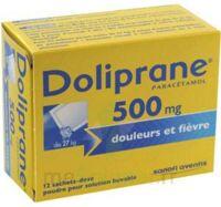 Doliprane 500 Mg Poudre Pour Solution Buvable En Sachet-dose B/12 à SAINT-MEDARD-EN-JALLES