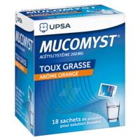 Mucomyst 200 Mg Poudre Pour Solution Buvable En Sachet B/18 à SAINT-MEDARD-EN-JALLES