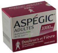 Aspegic Adultes 1000 Mg, Poudre Pour Solution Buvable En Sachet-dose 15 à SAINT-MEDARD-EN-JALLES