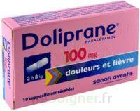 Doliprane 100 Mg Suppositoires Sécables 2plq/5 (10) à SAINT-MEDARD-EN-JALLES