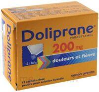 Doliprane 200 Mg Poudre Pour Solution Buvable En Sachet-dose B/12 à SAINT-MEDARD-EN-JALLES