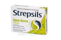 Strepsils Citron Sans Sucre, Pastille édulcorée à L'isomalt, Au Maltitol Et à La Saccharine Sodique à SAINT-MEDARD-EN-JALLES