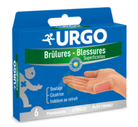 Urgo Brulures-blessures Petit Format X 6 à SAINT-MEDARD-EN-JALLES