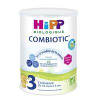 Hipp Lait 3 Combiotic® (nouvelle Formule Dha) Bio 800g à SAINT-MEDARD-EN-JALLES