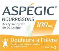 Aspegic Nourrissons 100 Mg, Poudre Pour Solution Buvable En Sachet-dose à SAINT-MEDARD-EN-JALLES