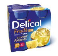 Delical Boisson Fruitee Nutriment Ananas 4bouteilles/200ml à SAINT-MEDARD-EN-JALLES