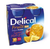 Delical Boisson Fruitee Nutriment Multi Fruits 4bouteilles/200ml à SAINT-MEDARD-EN-JALLES