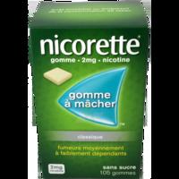 Nicorette 2 Mg Gom à Mâcher Médic Sans Sucre Menthe Fraîche Plq/105gom à SAINT-MEDARD-EN-JALLES