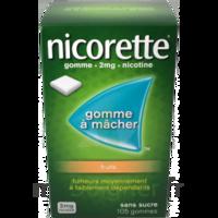 Nicorette 2 Mg Gomme à Mâcher Médicamenteuse Sans Sucre Fruits Plq/30 à SAINT-MEDARD-EN-JALLES
