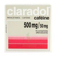 Claradol Cafeine 500 Mg/50 Mg, Comprimé Effervescent à SAINT-MEDARD-EN-JALLES