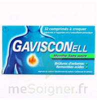 Gavisconell Coprimés à Croquer Sans Sucre Menthe édulcoré à L'aspartam Et à L'acésulfame Potas Plq/24 à SAINT-MEDARD-EN-JALLES