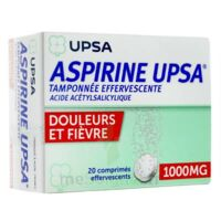 Aspirine Upsa Tamponnee Effervescente 1000 Mg, Comprimé Effervescent à SAINT-MEDARD-EN-JALLES