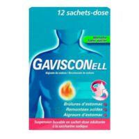 Gavisconell Suspension Buvable Sachet-dose Menthe Sans Sucre 12sach/10ml à SAINT-MEDARD-EN-JALLES