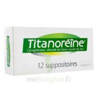 Titanoreine Suppositoires B/12 à SAINT-MEDARD-EN-JALLES