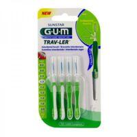 Gum Trav - Ler, 1,1 Mm, Manche Vert , Blister 4 à SAINT-MEDARD-EN-JALLES