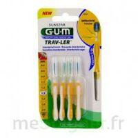 Gum Trav - Ler, 1,3 Mm, Manche Jaune , Blister 4 à SAINT-MEDARD-EN-JALLES