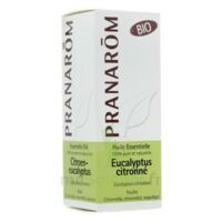 Huile Essentielle Eucalyptus Citronne Bio Pranarom 10 Ml à SAINT-MEDARD-EN-JALLES