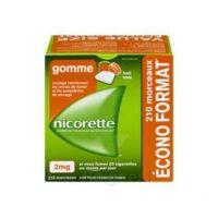 Nicorette 2 Mg Gomme à Mâcher Médicamenteuse Sans Sucre Fruits Plq/210 à SAINT-MEDARD-EN-JALLES