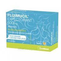 Fluimucil Expectorant Acetylcysteine 600 Mg Glé S Buv Adultes 10sach à SAINT-MEDARD-EN-JALLES