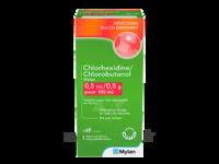 Chlorhexidine/chlorobutanol Mylan 0,5 Ml/0,5 G Pour 100 Ml, Solution Pour Bain De Bouche En Flacon à SAINT-MEDARD-EN-JALLES