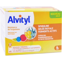 Alvityl Resist Solution Buvable 8 Fioles à SAINT-MEDARD-EN-JALLES
