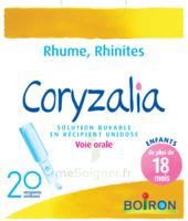 Boiron Coryzalia Solution Buvable Unidose B/20 à SAINT-MEDARD-EN-JALLES