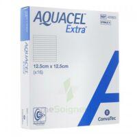 Aquacel Extra Pansement Hydrofiber Stérile 12,5x12,5cm B/16 à SAINT-MEDARD-EN-JALLES