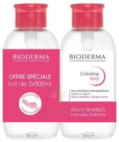 Crealine H2o Solution Micellaire Nettoyante Apaisante Sans Parfum 2fl Pompe Inversée/500ml à SAINT-MEDARD-EN-JALLES