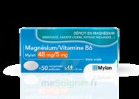 Magnesium/vitamine B6 Mylan 48 Mg/5 Mg, Comprimé Pelliculé à SAINT-MEDARD-EN-JALLES