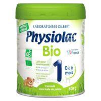 Physiolac Bio 1 Lait En Poudre B/800g à SAINT-MEDARD-EN-JALLES