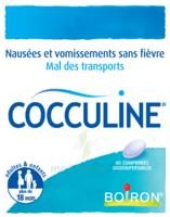 Boiron Cocculine Comprimés Orodispersibles B/40 à SAINT-MEDARD-EN-JALLES